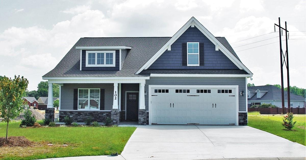 New Construction Craftsman Style Story Goldsboro