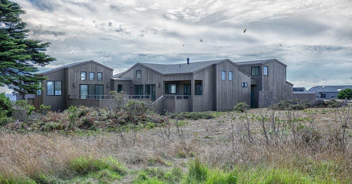 Contemporary Ocean View Sea Ranch Home 360 Main Sail