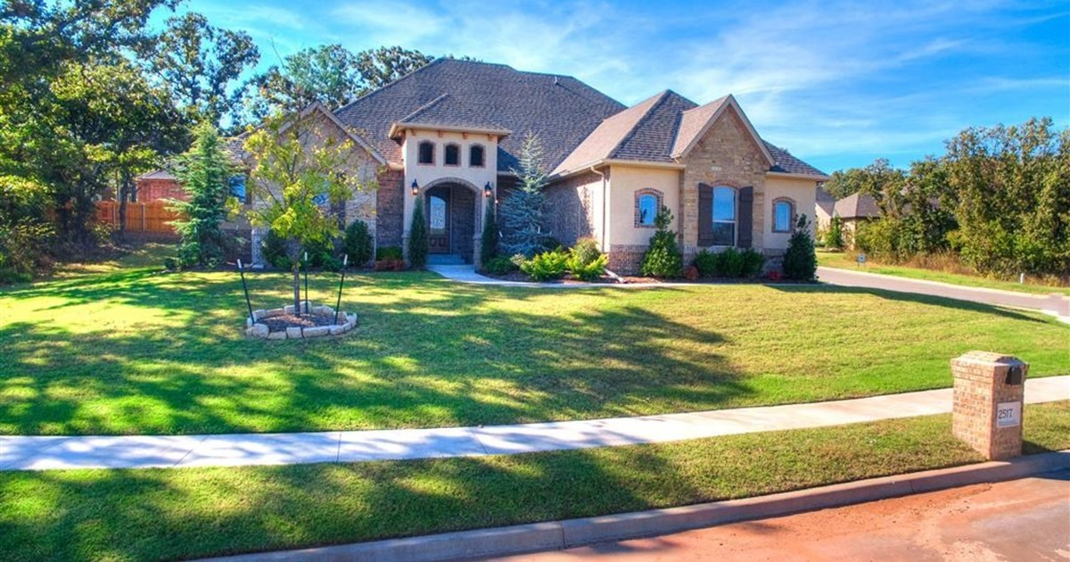 Stunning Home In Thunder Canyon 2517 Rumble Ln Edmond