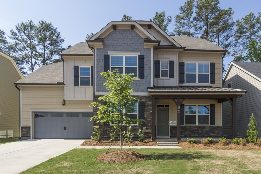 The Wheylon by Ashton Woods Homes in Apex, NC