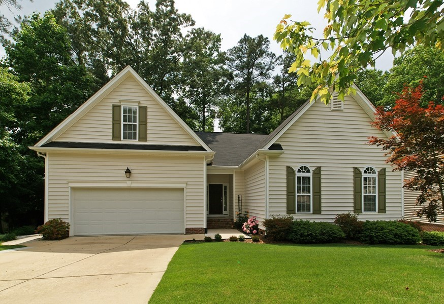 One Story Living In Great Garner Location!