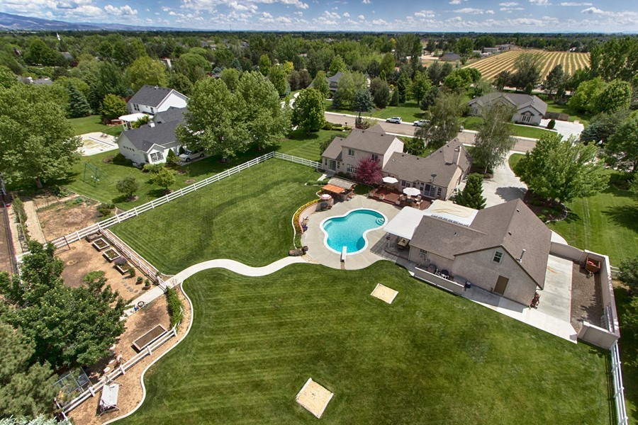 1 Acre Custom Dream Home!